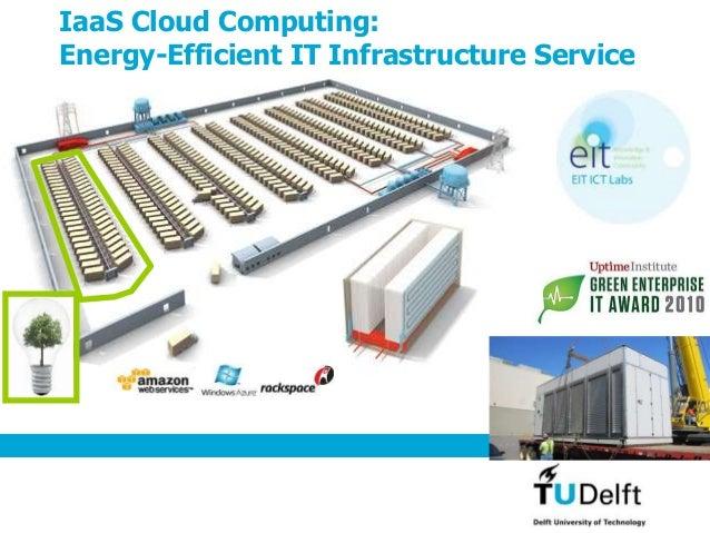 IaaS Cloud Computing: Energy-Efficient IT Infrastructure Service