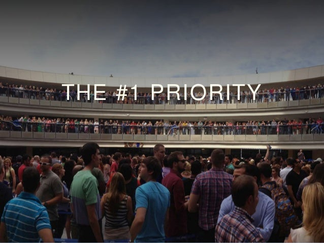 THE #1 PRIORITY
