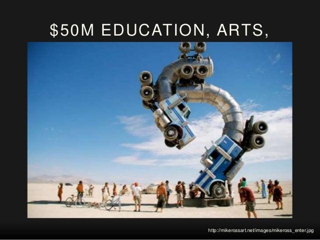 $50M EDUCATION, ARTS, CULTURE http://www.vegasnews.com/wp-content/uploads/3_2_12_burn_vegas_kabik-131-9-588.jpg