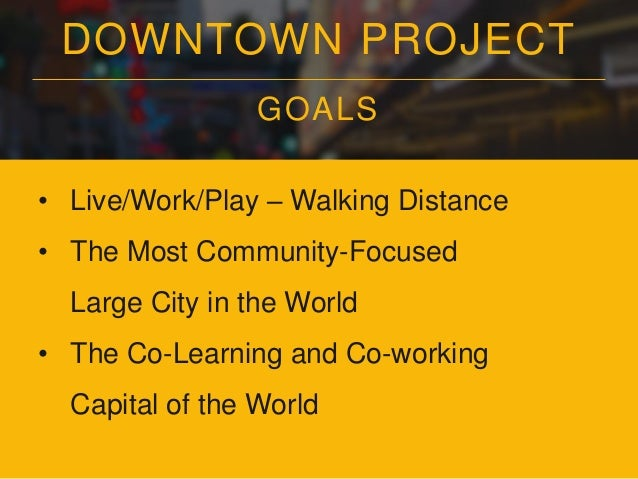 """DOWNTOWN PROJECT REFRAMING """"COMMUNITY"""""""