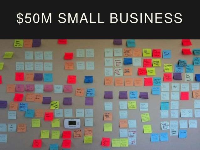 $50M SMALL BUSINESS Criteria