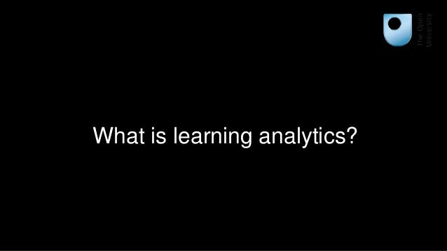 Learning analytics and evidence-based teaching and learning Slide 3
