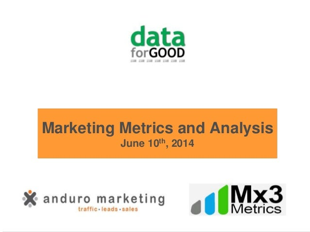 marketing metrics case study of Innovative and creative marketing strategies are imperative to the success of a brand the best lessons are learned through experience and ama's case study library offers you insights and practical solutions from a wide variety of companies and industries.
