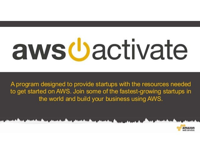 A program designed to provide startups with the resources needed to get started on AWS. Join some of the fastest-growing s...