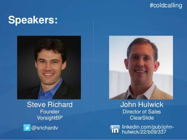 Cold Calling Trends:  How to turn your cold calls HOT Slide 2