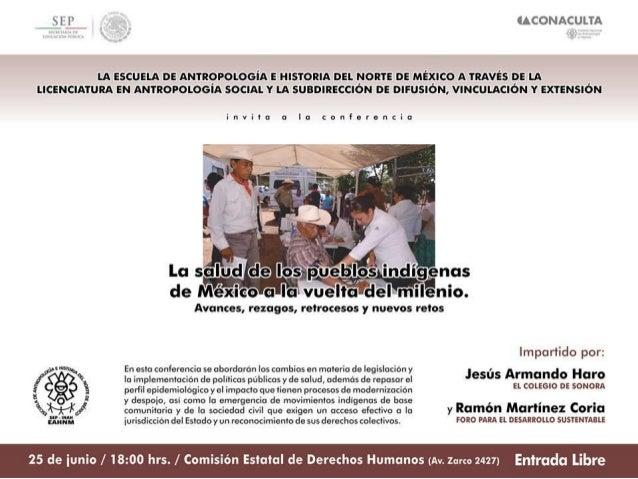 Contenido • Comunidades y pueblos indígenas en el México actual • Las condiciones de salud de los pueblos indígenas en Méx...