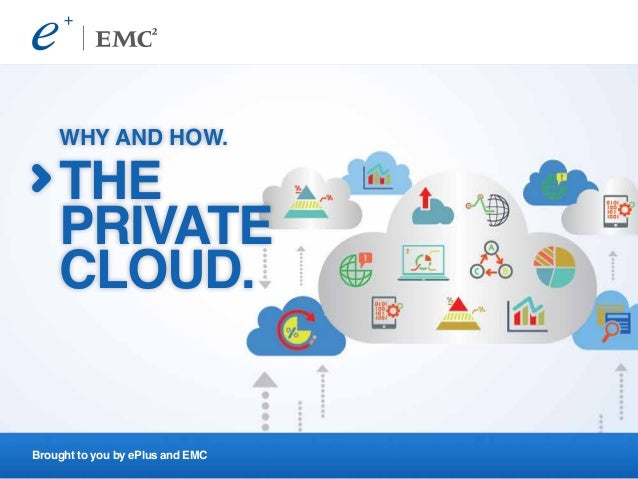 Brought to you by ePlus and EMC WHY AND HOW. THE PRIVATE CLOUD.