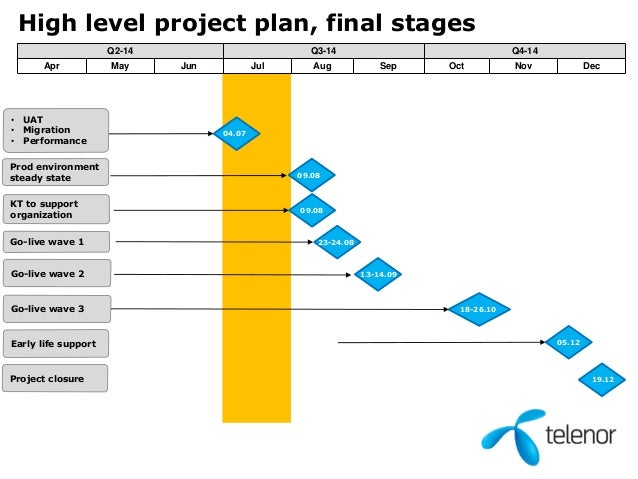 high level project plan template ppt - innovative business development in a shared services model