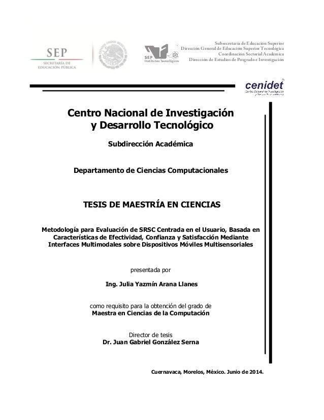 cnológico  Subsecretaría de Educación Superior  Dirección General de Educación Superior Tecnológica  Coordinación Sectoria...