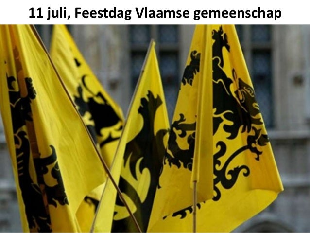 11 juli, Feestdag Vlaamse gemeenschap