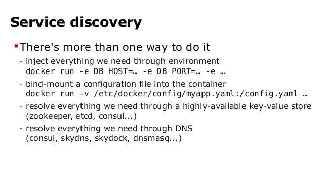 Docker online meetup 3 docker in production for Docker run consul