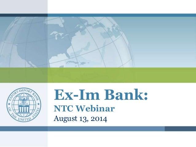 Topic: North Texas   Ex-Im Bank Success Stories Slide 2