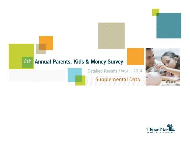 6th August 2014 Supplemental Data