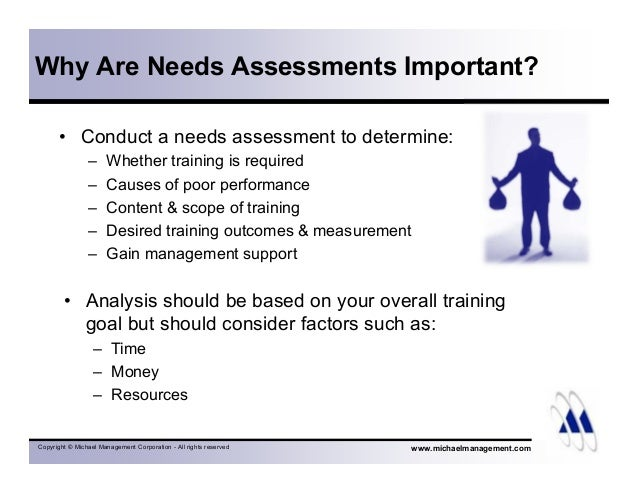 Steps To An Effective Needs Assessment