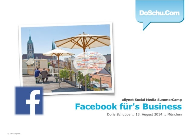 Facebook für's Business