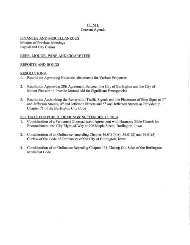 Iowa City City Council Packet
