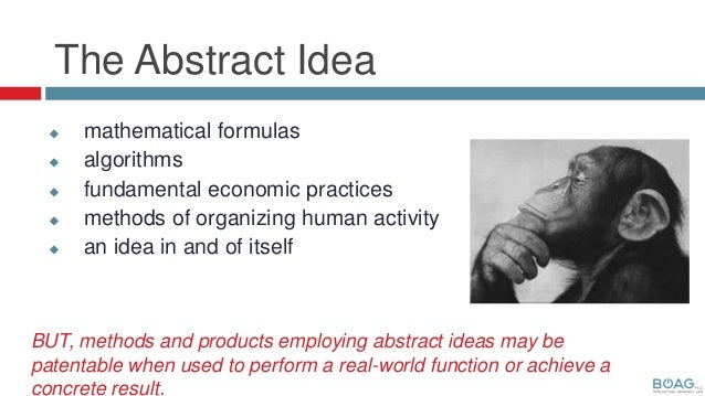 What Is Abstract Idea Patent