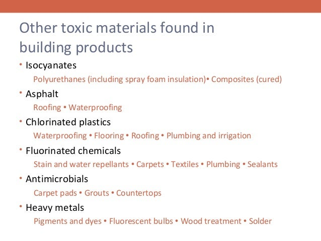 Healthy Building Materials And Emf