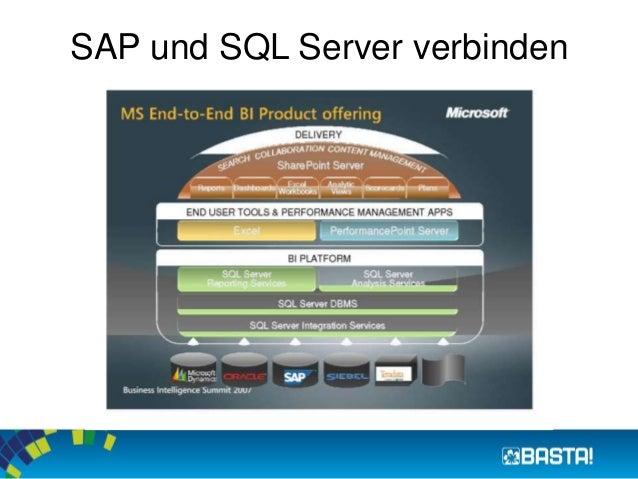 SAP und SQL Server verbinden