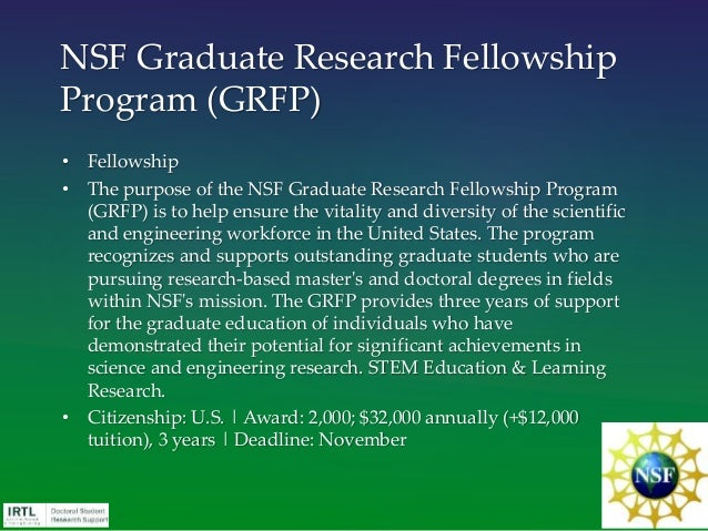 dissertation write-up fellowships Summer dissertation  students are expected to be in the final write-up stages and  students are ineligible for any future gri fellowships after.