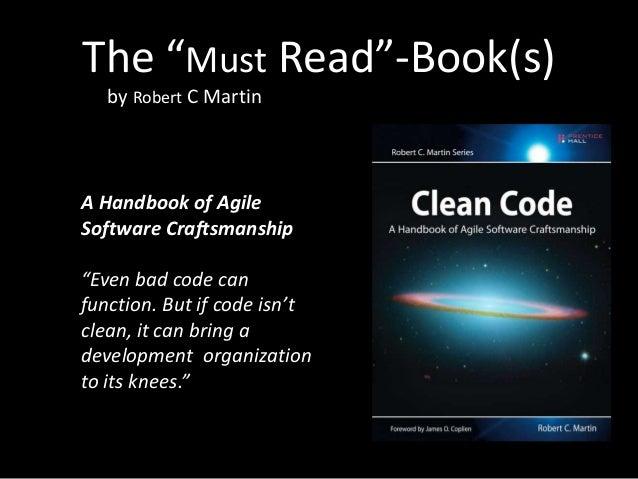 Clean Code I - Best Practices