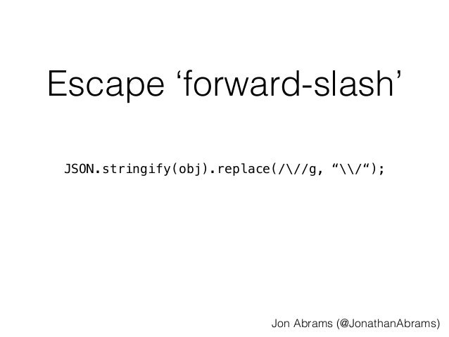API Prefetching - HTML5DevConf - Oct  21, 2014