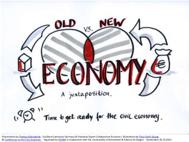 new economy vs old economy