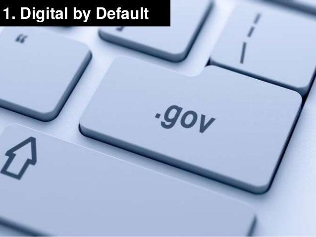 1. Digital by Default