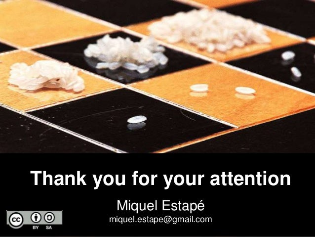 Thank you for your attention  38  Miquel Estapé  miquel.estape@gmail.com