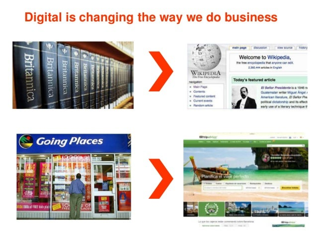 Digital is changing the way we do business