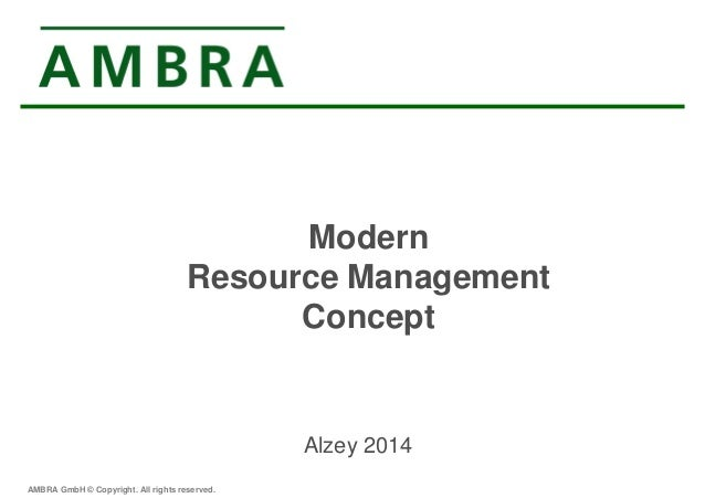 Project management goal: Manage resources