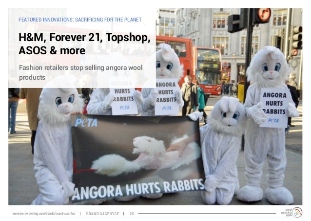 FEATURED INNOVATIONS: SACRIFICING FOR THE PLANET  H&M, Forever 21, Topshop,  ASOS & more  Fashion retailers stop selling a...