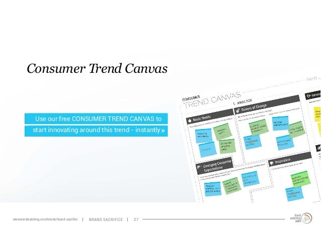Consumer Trend Canvas  Use our free CONSUMER TREND CANVAS to  start innovating around this trend - instantly  »  www.trend...