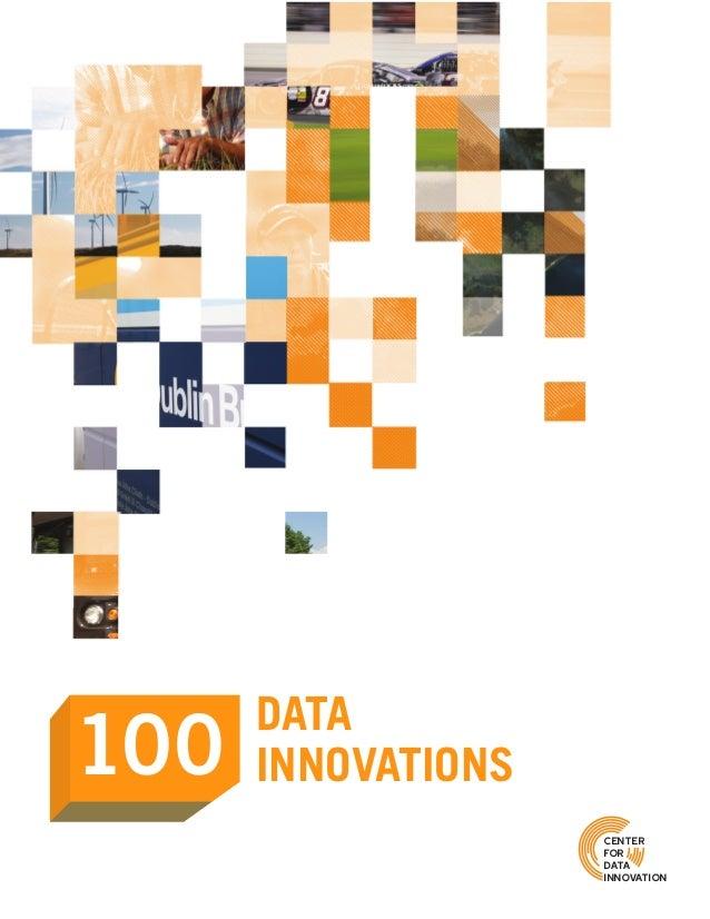 100 DATA INNOVATIONS center for data innovation