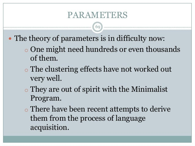 polysynthesis parameter Languages as polysynthetic, citing eskimoan languages as prime examples  in his book the polysynthesis parameter, baker specifies two features he deems.