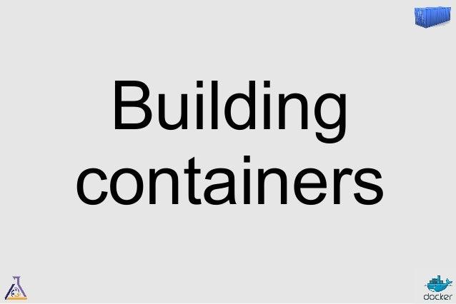 Dockerfiles  vs.  Shell scripts