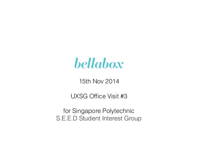 15th Nov 2014 UXSG Office Visit #3 for Singapore Polytechnic S.E.E.D Student Interest Group