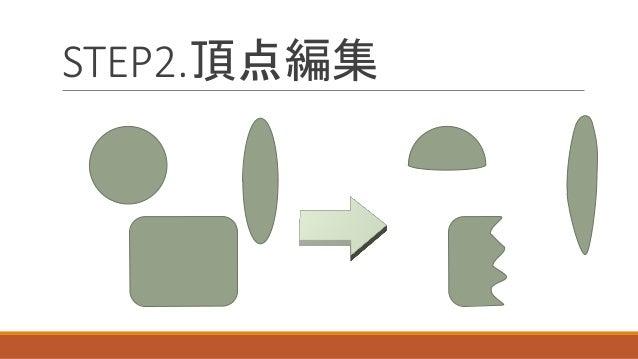 STEP2.頂点編集