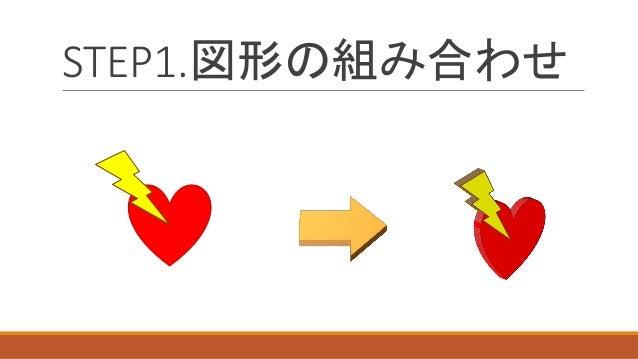 STEP1.図形の組み合わせ