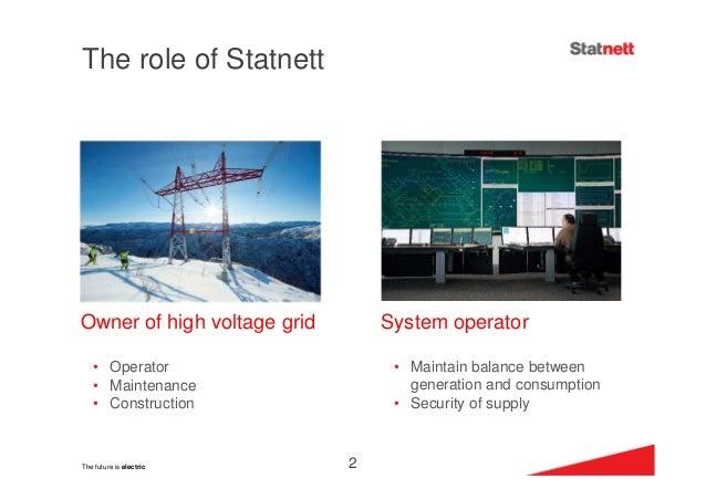 Presentation by Mr Auke Lont Statnett Norge at #NLC Olos 26.11.2014 Slide 3