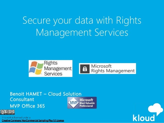 2014 12 10 office 365 sydney user group secure your - Rights management services office 365 ...