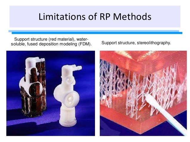 Support structure (red material), water- soluble, fused deposition modeling (FDM). Support structure, stereolithography. L...