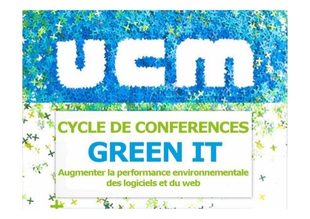 1 Éco-conception logicielle et web Frédéric Bordage Expert Green IT info@ R
