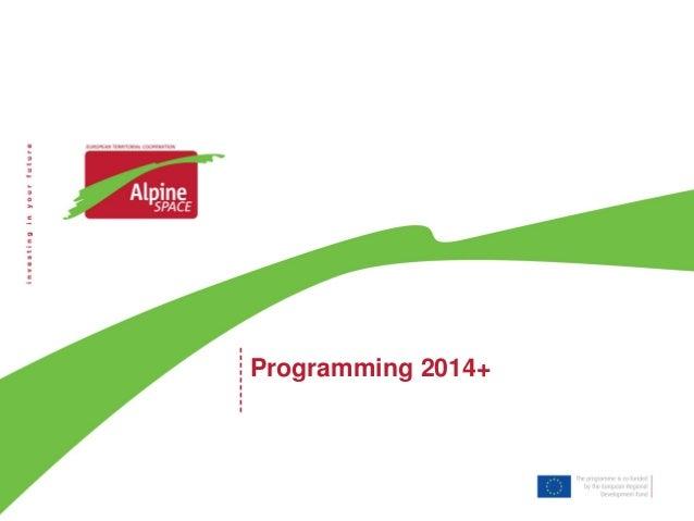 Programming 2014+