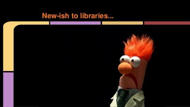 New-ish to libraries...