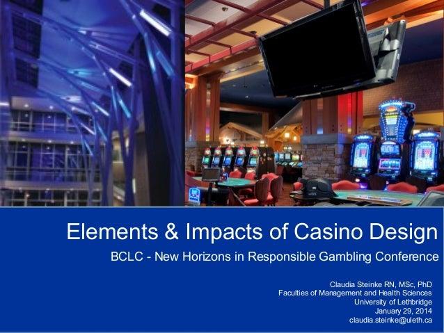 Impact of casino gambling on line slot machine gambling