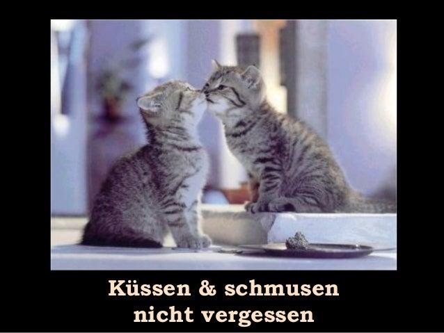 Küssen & schmusen nicht vergessen