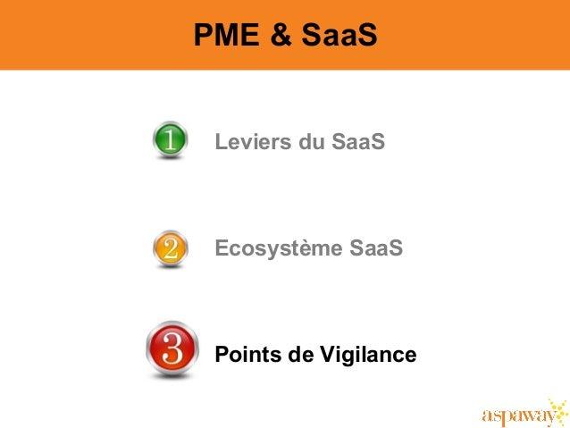 13 Leviers du SaaS Ecosystème SaaS Points de Vigilance PME & SaaS