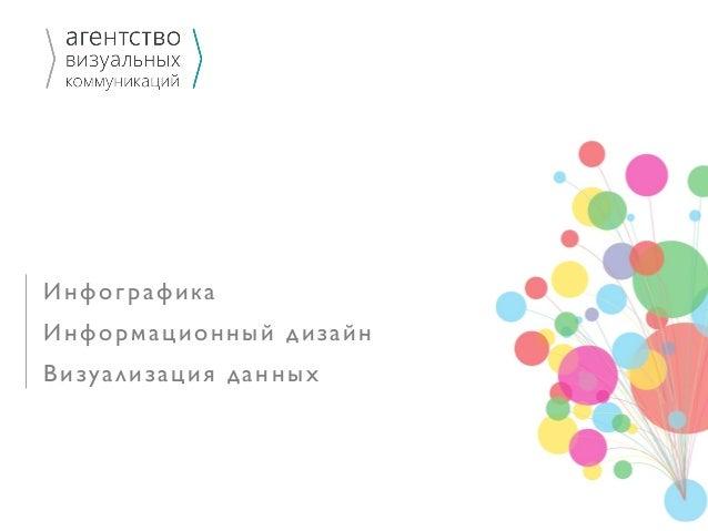Инфографика Информационный дизайн Визуализация данных