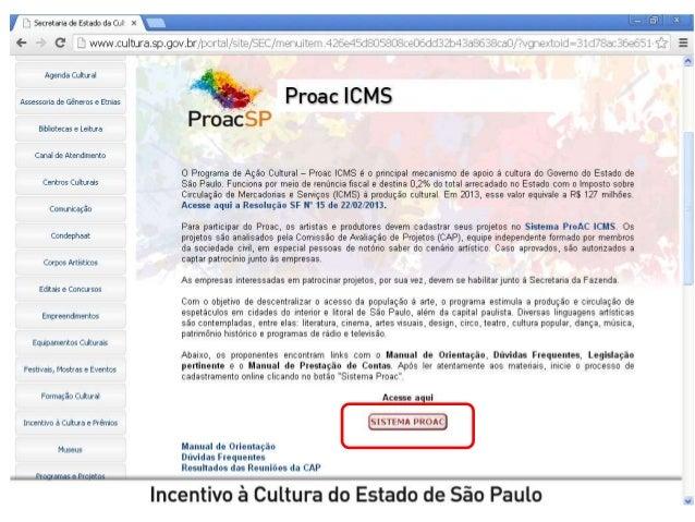 d796e55a79a61 Cemec - Jornada ProAC - Aula 3 - Felipe G. de Souza - Sistema